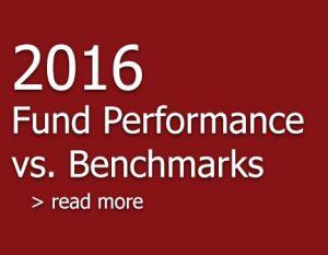 Fund Performance V. Benchmarks 2016