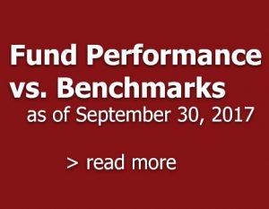 Fund Performance V. Benchmarks September 30, 2017