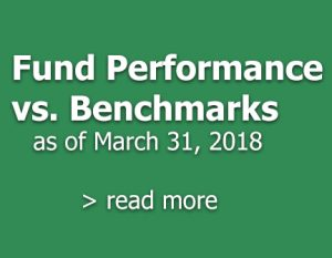 Fund Performance V. Benchmarks March 31, 2018